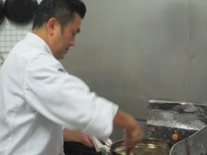 中野 誠司シェフ料理教室