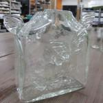 羽ばたくガラス花器