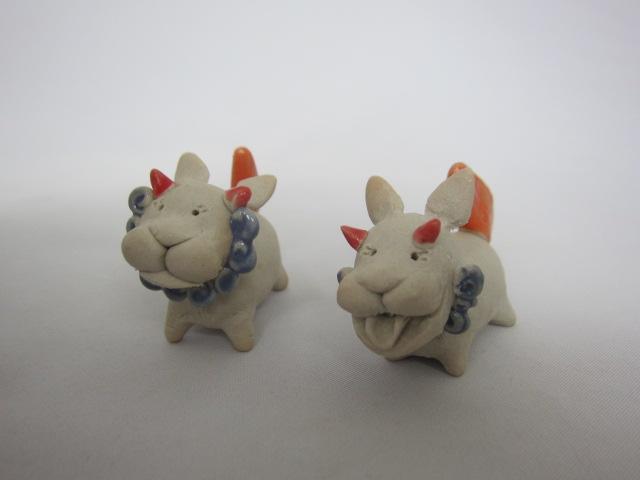 陶器 犬 シーサー