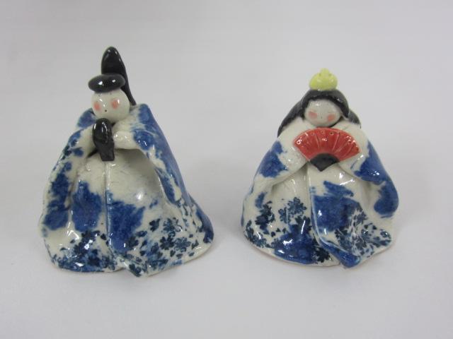 陶芸 雛人形
