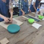 レオマで泊まって陶芸体験