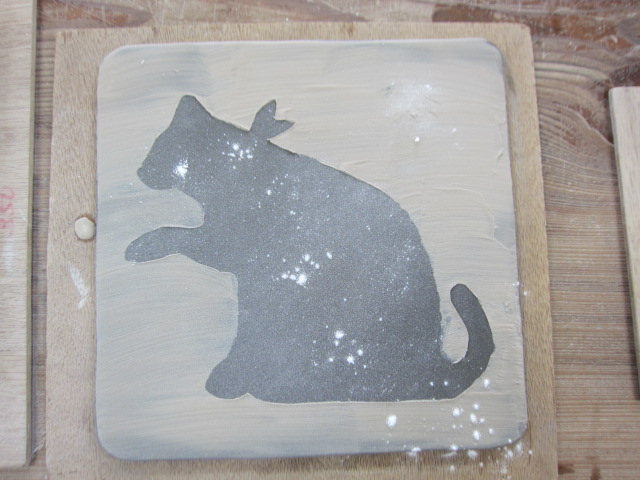 ネコ 陶器
