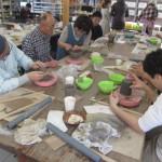 県外から陶芸体験