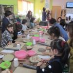 小学生カップ作り陶芸体験