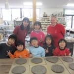 ABC保育園卒園記念器作り体験