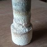 陶芸の窯 蓋の修復