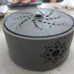 香川の蚊をやっつけよう!! 陶器で蚊取り線香入れ