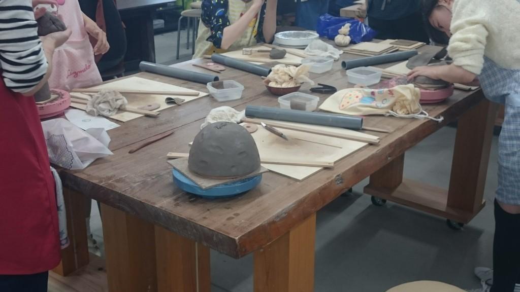 修学旅行 陶芸体験