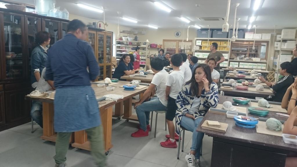 陶芸 手び練り 体験
