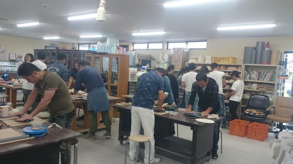 陶芸 手び練り 体験 (1)
