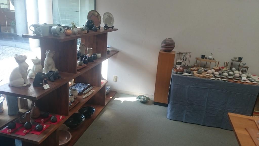 灸まん美術館 作陶展 (1)
