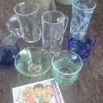 グラスタイムさんで生徒さんと吹きガラス体験