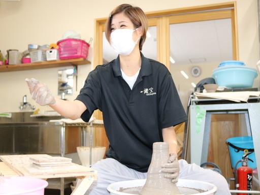 香川 丸亀 陶芸 レクリエーション ロクロ 体験 (6)