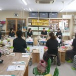 鳥取から団体様のロクロ体験