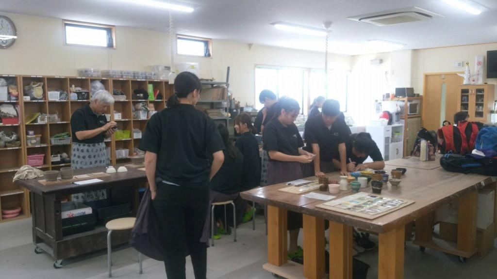 台湾 ロクロ 体験 (7)