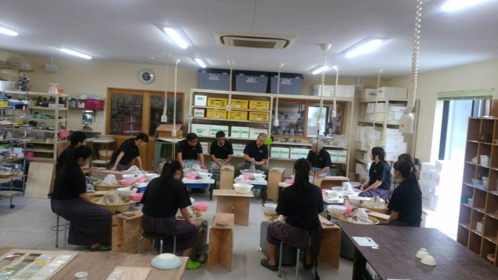 台湾 ロクロ 体験 (2)