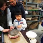 子供会で陶芸体験