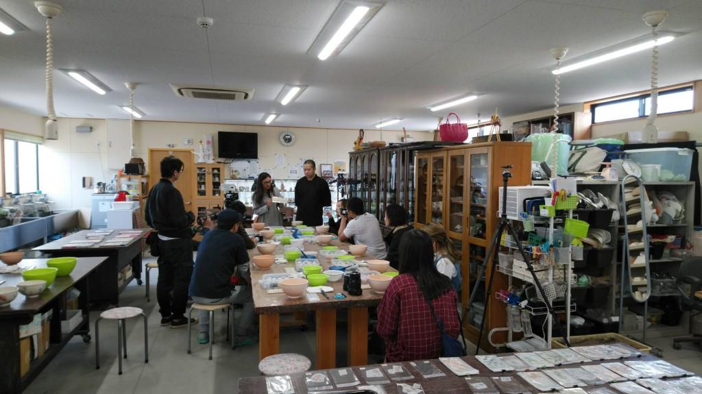 香川 陶芸 インバウンド