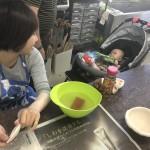 お母さんと一緒で安心陶芸
