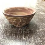 前に製作した盆栽鉢が焼き上がりました。