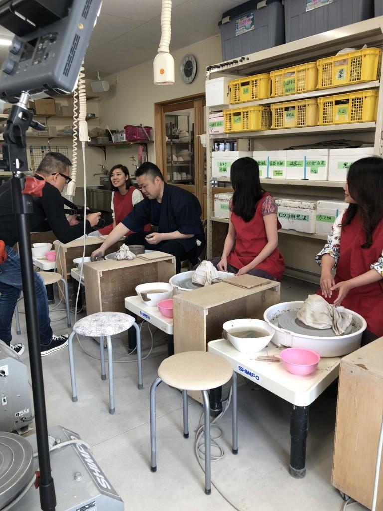 インバウンド 陶芸 香港 うどん鉢 (6)
