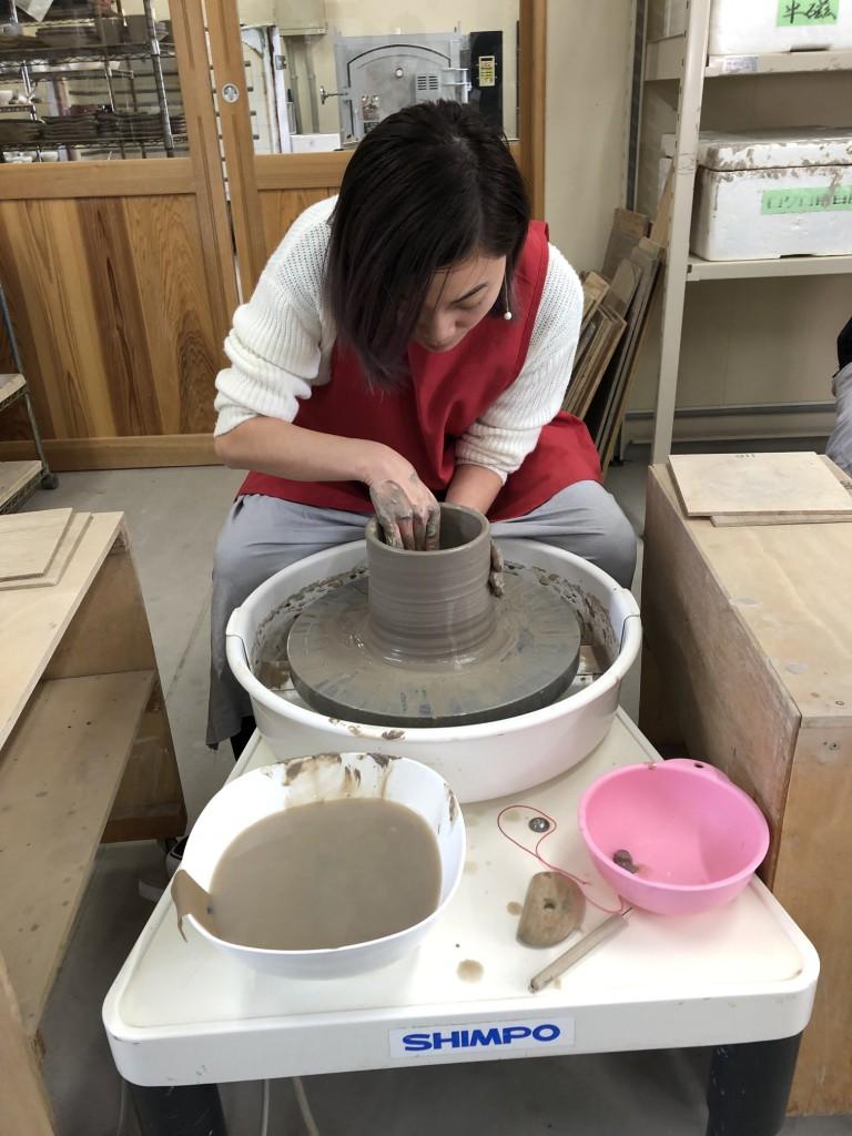インバウンド 陶芸 香港 うどん鉢 (18)