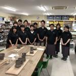 MEU 三菱電機エンジニアリングユニオン 丸亀市部さんのレクリエーションでロクロ体験で使ってもらいました