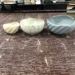 第25回一穂窯作陶展「鎬-しのぎ-」 教室の片付けと作品
